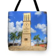 Eliza James-mcbean Clock Tower Tote Bag