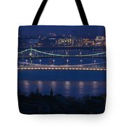 Elizabeth And Liberty Bridges Budapest Tote Bag