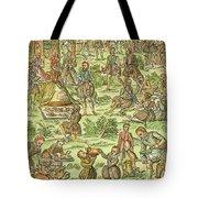 Elizabeth I, 1533-1603 Tote Bag