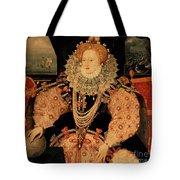 Elizabeth I Armada Portrait Tote Bag