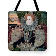 Elizabeth I Armada Portrait Tote Bag by George Gower