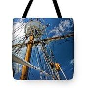 Elizabeth II Mast Rigging Tote Bag