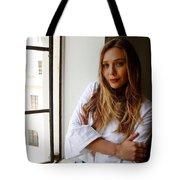 Elizabeth Olsen Tote Bag