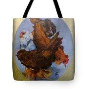 Elizabeth's Chickens Tote Bag