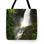 Elk Creek Falls Rainbow Tote Bag