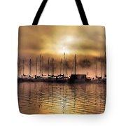 Elk Lake Morning  Tote Bag