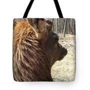 Elk Profile Tote Bag