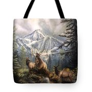 Elk Ridge Tote Bag