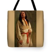 Elkfoot Of The Taos Tribe Tote Bag