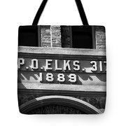 Elks Building 1889 Tote Bag