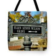 Ellen Axson Wilson Tote Bag