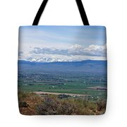 Ellensburg Valley With Sagebrush And Lupine Tote Bag