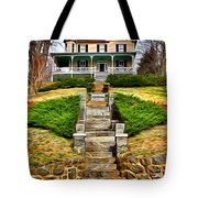 Ellicott City House Tote Bag