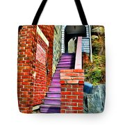 Ellicott City Steps Tote Bag
