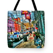 Ellicott City Street Tote Bag