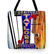 Ellicott City Taylor's Sign Tote Bag