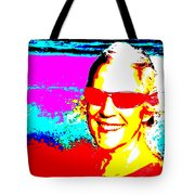 Ellie On Sunday Tote Bag by Eikoni Images