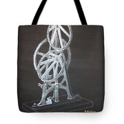Elliptical Gears Tote Bag