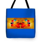 Elliptical Iridescence Tote Bag