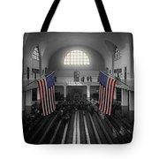 Ellis Island Tote Bag