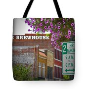 Elm Street Downtown Greensboro Tote Bag