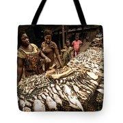 Elmina Fish Sellers Tote Bag