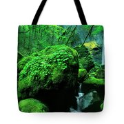 Elowah Falls 2 Columbia River Gorge National Scenic Area Oregon Tote Bag