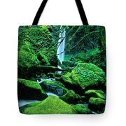 Elowah Falls 4 Columbia River Gorge National Scenic Area Oregon Tote Bag