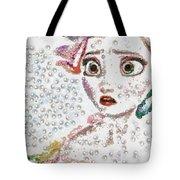 Elsa Art Pearlesqued In Fragments  Tote Bag