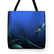 Elusive North Western Spiny Fish Tote Bag