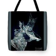 Elusive Visions Antelope Buck Tote Bag