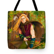 Elven Hunter Tote Bag