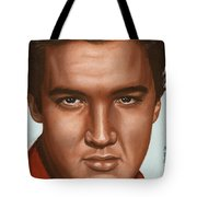 Elvis 24 1958 Tote Bag