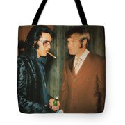 Elvis And Glen Tote Bag