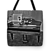Elvis And The Black Piano ... Tote Bag