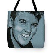 Elvis Is Back Tote Bag