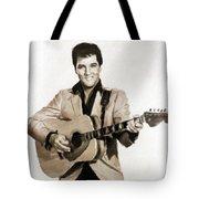 Elvis Presley By Mb Tote Bag