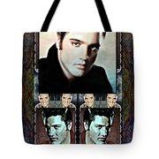Elvis Presley Montage Tote Bag