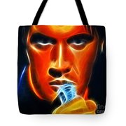 Elvis Presley Tote Bag by Pamela Johnson