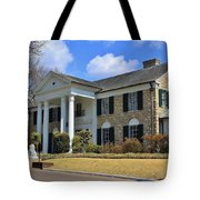 Elvis Presley's Graceland Tote Bag