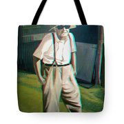 Elwood - 2d-3d Anaglyph Conversion Tote Bag