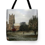 Ely Cambridgeshire, Uk.  Ely Cathedral  Tote Bag