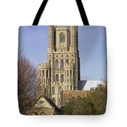 Ely Cathedral West Tower Tote Bag