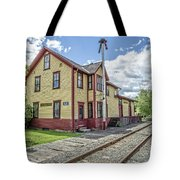Ely Vermont Train Station Tote Bag