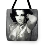 Elzabeth Taylor 6 Tote Bag