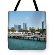 Embarcadero Marina Park South Pier Close Up Tote Bag