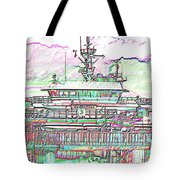 Embarking Tote Bag