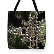 Embellished Cross Tote Bag