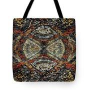 Embellished Texture Tote Bag