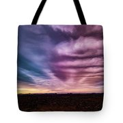Embers Of A Fading Sunset Tote Bag